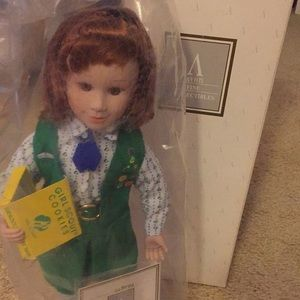 NIB Girl Scout Tender Memories Doll Collection